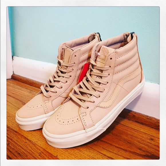 800a09e7ec Vans Veggie Tan Leather Sk8-Hi Reissue Zip DX. M 5a72411bcaab443ebed5edd9